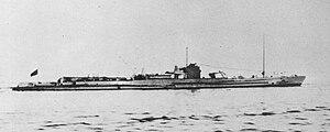 Junsen type submarine - I-6 in 1935