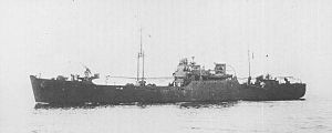 Kinesaki-class food supply ship - Image: Japanese supply ship Arasaki 1943