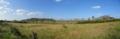 Jardim de Maytreia e o Morro da Baleia panoramica.png