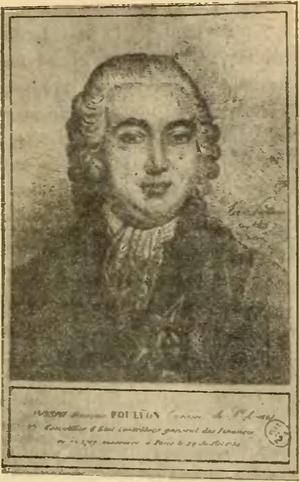 """À la lanterne - Joseph Foullon de Doué, the first victim of lynching """"à la lanterne"""""""
