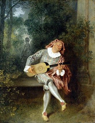 Jean-Antoine Watteau - Image: Jean Antoine Watteau Mezzetin
