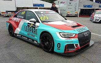 TCR Touring Car - An Audi RS3 LMS TCR in the TCR Europe Series.