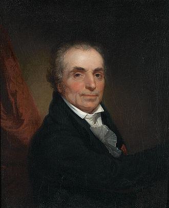 Jean-Antoine Houdon - 1808 portrait by Rembrandt Peale