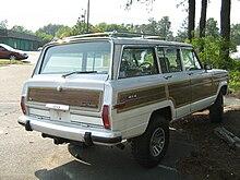 220px Jeep_Grand_Wagoneer_white_NC_r jeep wagoneer (sj) wikipedia
