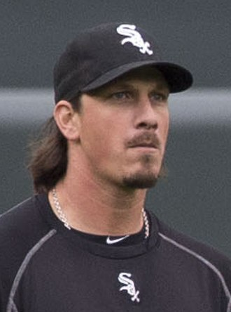 Jeff Samardzija - Samardzija with the Chicago White Sox in 2015