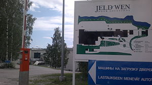 Jeld-Wen - Jeld-Wen in Kuopio, Finland
