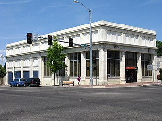 Jerome, Idaho - Jerome National Bank, July 2008