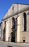 Jihlava Exaltation of the Cross church front.jpg