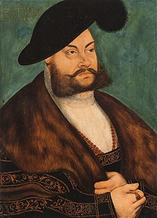 Joachim II Hector, Elector of Brandenburg Elector of Brandenburg (1535-1571)