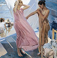 Joaquín Sorolla y Bastida - After Bathing, Valencia - Google Art Project.jpg