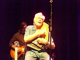 Butler with The Lovin' Spoonful, Foxboro, Massachusetts, January 13, 2011
