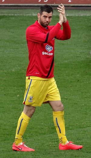 Joe Ledley - Ledley playing for Crystal Palace.