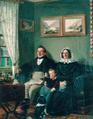 Johann Peter Keuchen (1776–1858) und Sophie Karoline Keuchen geb. Frowein (1777–1856) mit ihrem Enkel Eduard Werlé, 1844.png