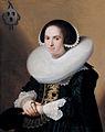 Johannes Cornelisz. Verspronck - Portrait of Willemina van Braeckel - WGA25033.jpg