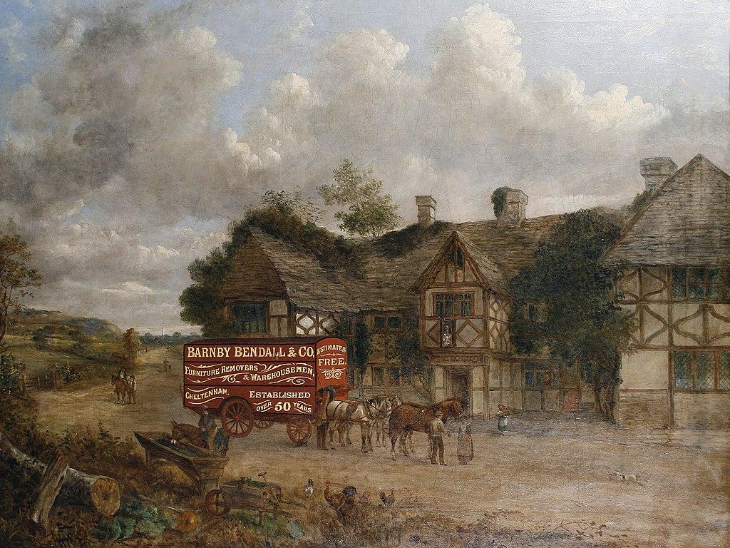 John Charles Maggs - A coach by an inn.jpg