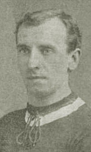 John Christie (footballer, born 1881) - Christie while with Brentford in 1910.