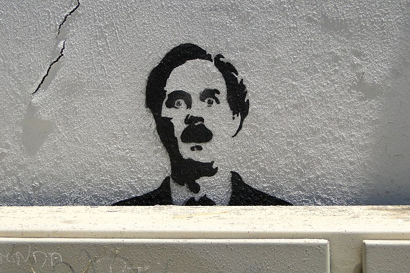 File:John Cleese-Fawlty Towers Graffito - Alfama District - Lisbon, Portugal (4632932885).jpg