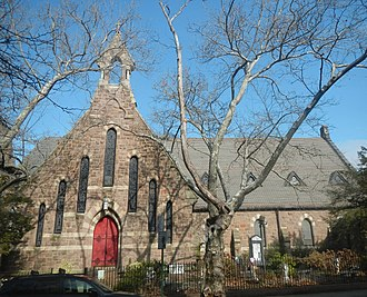 Park Slope - St. John's Episcopal Church, on St. Johns Place