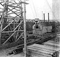 John J Sesnon Company's coal pile and lumber yard, Nome, Alaska, October 17, 1907 (AL+CA 6866).jpg