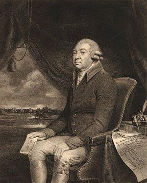 John Robinson (Treasury) - John Robinson, engraving by William Bond after George Francis Joseph