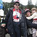John Walkinshaw & family at Cypress Mt. during 2010 Winter Olympics 2010-02-15.JPG