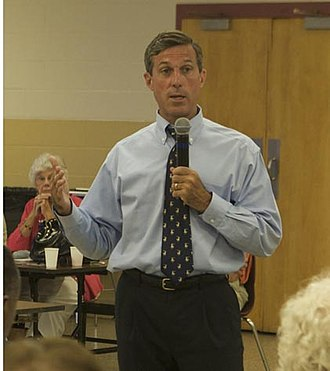 John Carney (politician) - Carney at a campaign event, June 23, 2008