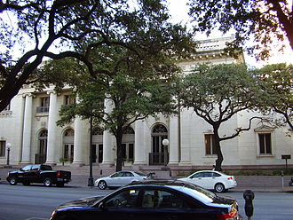 University of Texas System - Claudia Taylor Johnson Hall, an administrative building in Downtown Austin