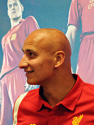 Jonjo Shelvey - Shelvey with Liverpool in 2012