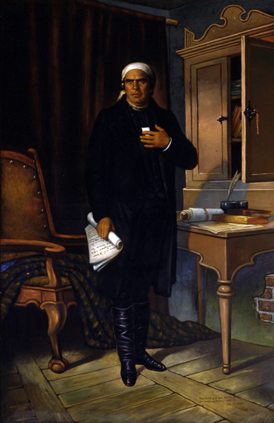 José María Morelos, óleo de Petronilo Monroy