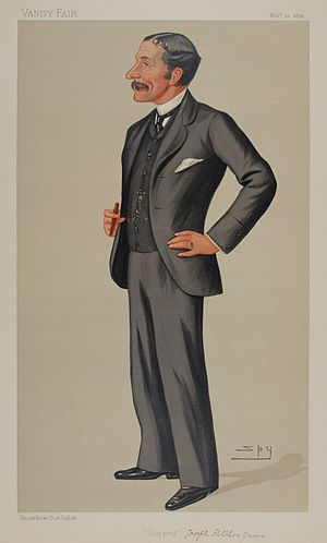 Joseph Green (rugby union and cricket) - Caricature of Joseph Fletcher Green from Vanity Fair