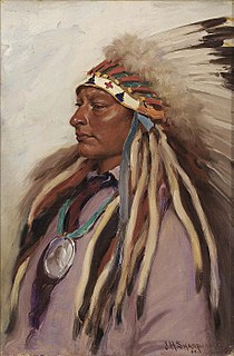 Native American leader