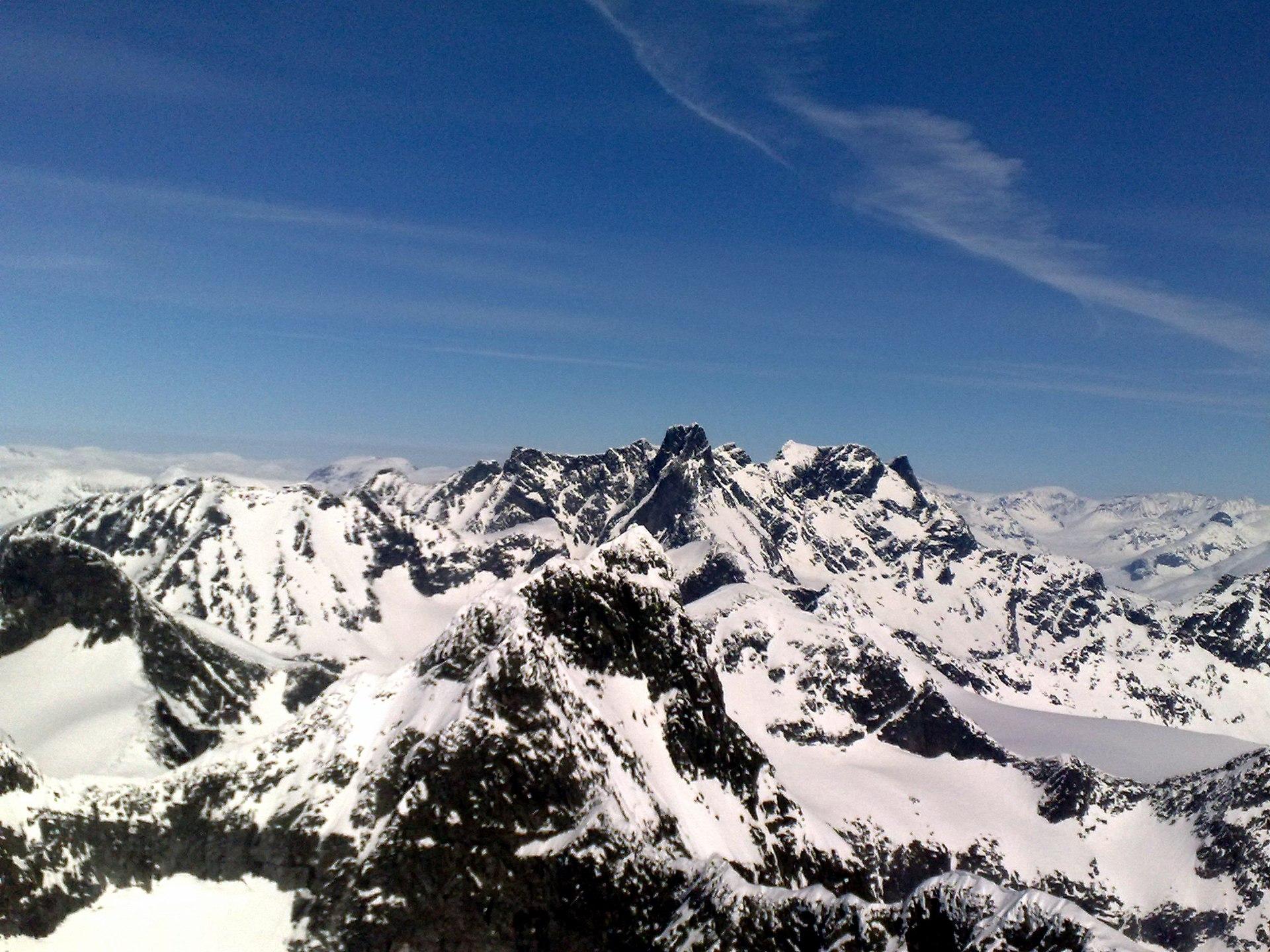 nordens høyeste fjell