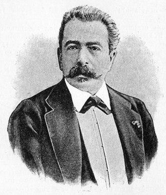Józef Wieniawski - Portrait of Józef Wieniawski.