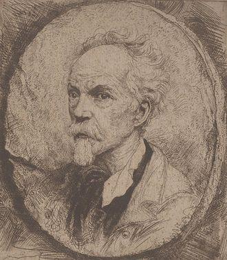 Jozef Linnig - Self-portrait