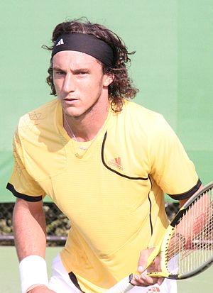 Juan Mónaco - Juan Monaco at the 2007 Australian Open