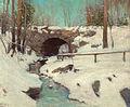 Julian Onderdonk - Stone Bridge in Winter, Central Park (1900s).jpg