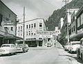 Juneau - Golden North Salmon Derby banner 1955.jpg