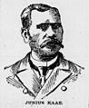 Junius Kaae, Advertiser sketch, 1906.jpg