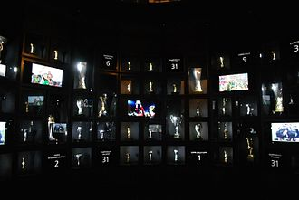 A Partial View Of The Clubs Trophy Room With Titles Won Between 1905 And 2013 At J Museum