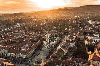 Kőszeg Town in Vas, Hungary