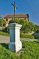 Kříž u fary, Stražisko, okres Prostějov.jpg
