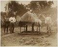 KITLV - 39075 - Muller, Julius Eduard - Paramaribo - A small shrine in a Maroon village in Surinam - circa 1885.tif