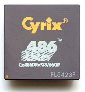 Cyrix - Cyrix Cx486DRx² Microprocessor.
