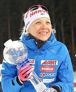 Kaisa Mäkäräinen Finnish biathlete