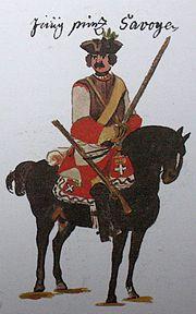 Kaiserliches Kürassierregiment K 2 1734 Gudenushandschrift