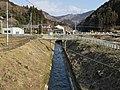 Kakinosawa Power Station No. 1 open culvert.jpg