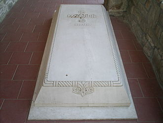 Kaloyan of Bulgaria - Kaloyan's supposed grave in the Church of the Holy Forty Martyrs in Tarnovo
