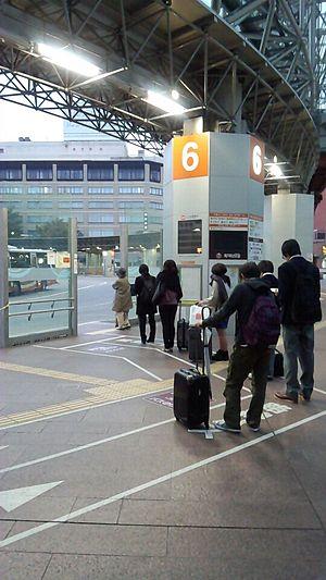 Kanazawa Station - Gate 6