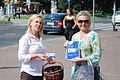 Kandydatka Urszula Pańka podczas Błękitnej Soboty w Szczecinie (6124220400).jpg