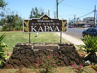 Kapaa, Hawaii - Image: Kapaa Kauai Hawaii